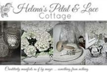 Petal & Lace Cottage / Helena's Petal & Lace Cottage is my new blog where I will share decor and vignette ideas from my new downsized home.