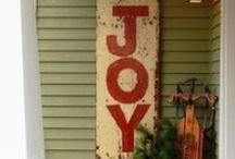 Christmas signs / Christmas signs to make
