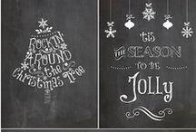 Christmas printables / Christmas-themed printables