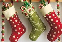 Christmas Stockings and Stuffers / Christmas stockings and things to put in them
