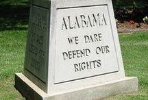 Alabama ~ Heart of Dixie / by Robert Ryggs