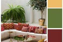 Color Palette Ideas / Color Palette Ideas for Interior Design