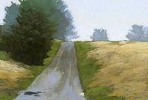 Landscapes / various art styles of landscapes