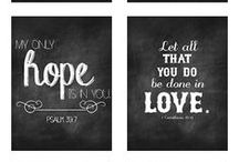 Printables / images and quotes available for download