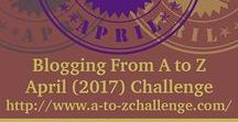 2017 From A to Z Blogging Challenge, Theme: Rightfully Ours / Daily posts, A through Z, in the From A to Z Blogging Challenge around the theme of my coming of age/YA romance novel Rightfully Ours.