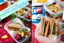 Project LunchBox / My project: To get folks to pack homemade lunches for school and work. More here: http://su.pr/3GLNZl / by Marla Meridith