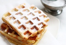 Pancakes + Waffles + Crepes / All shapes, sizes + flavors of pancake and waffles | JOY :)