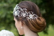 BRIDAL COLLECTION - HERMIONE HARBUTT / The Hermione Harbutt wedding hair accessories collection consists of bridal headdresses and tiaras, many of which are vintage inspired and all of which demonstrate exceptional quality craftsmanship and originality of design.