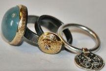Elegant elajoyas rings / Different elajoyas rings. Byzantine, Pure Stone and Mandala unique jewelry collections. More info at www.elajoyas.com / by Gabriela Basso