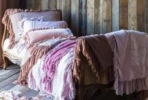 Dreamy Bedrooms / Minimal, ornate, pattern filled ~ a little bit of everything with great style! / by Marla Meridith