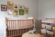 nursery inspiration for baby niece / a modern woodland nursery: foxes and deer oh my / by Beatrice K.