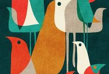 illustration / by Beatrice K.
