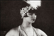 1920'S STYLE / The Roaring 20's, flapper dresses, The Great Gatsby, vintage bridal gowns and the Charleston.