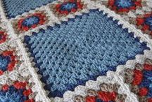 Crochet granny squares / by Lee Ann Williams