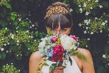 REAL BRIDES OF HERMIONE HARBUTT / A selection of our stunning real life brides showcasing their Hermione Harbutt headpieces and jewellery.
