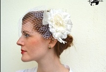 Wedding hair accesories - by mon bibi / these are my latest wedding hair accessories made be me!