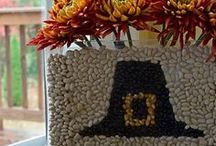 Thanksgiving Centerpieces / It's almost here the day of eating and giving thanks. On a day centered around families sitting at the table together, decorating the table with the perfect centerpiece can make all the difference. Here are some ideas and inspiration to decorate your table this holiday season!  / by Budget Travel