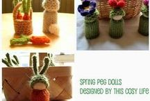 Peg Peeps / How to's  Inspiration