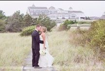Wychmere Wedding - Cape Cod, MA / Here are some of our favorite photos of Nicole and Dan's wedding at the Wychmere Harbor Beach Club, a gorgeous Cape Cod wedding venue on the ocean.