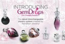 GemDrops! / Introducing Jewelpop Inc.'s new revolutionary interchangeable necklace line!