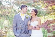 Elm Bank Garden Wedding / Here are some of our favorite photos from a recent fall garden wedding at the Elm Bank Horticulture Center in Wellesley, MA...