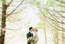 WOODLAND WEDDING / Inspiration for an organic and idyllic woodland wedding.