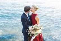 ANYTHING BUT WHITE / Colourful and unique wedding dresses