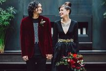 THE ROCK N ROLL BRIDE - MUSIC INSPIRED BRIDES / Favorite music genres often inspire future brides.  Here are some ideas for those like Rock N Roll music!