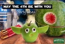 Star Wars Birthday Party Ideas / Celebrate Sta rWars Day like a Jedi with our May the Fourth Be With You & Birthday Party Ideas board.