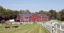 Barn at Liberty Farms / This is a new wedding venue in upstate NY near Hudson. This barn is actually a converted horse barn, and has been updated with tons of modern details while maintaining its rustic charm.  @barnatlf