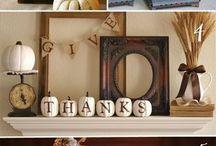*Thanksgiving/Fall* / by Erin Hammons