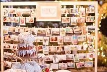 Wedding Ideas / A look into some creative ideas to create the perfect wedding setting.