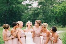 #Brides & Bridesmaids / ♥ More wedding ideas … for the bride and bridesmaids ♥