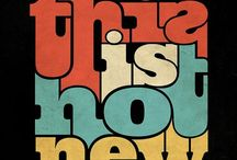 Typography / For the love of fonts and type  / by Kamea Johnson