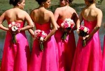 Pink Wedding / ♥ More wedding ideas … for a pink wedding ♥  / by BridesGroomsParents … plan a wedding...