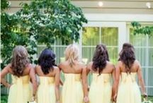 Pastel Yellow Wedding / ♥ More wedding ideas … for a yellow wedding ♥