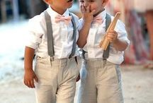 #Ringbearers & Pageboys / ♥ More wedding ideas … for the ring bearers & pageboys ♥