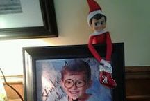 Elf on the Shelf Ideas / I bought our first Elf on the Shelf today and I can't wait to surprise the kids with his silly antics this December. Thanks for all the fun ideas, Pinterest!