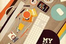 Flat, Graphic Illustration / by Paul Mazzoleni
