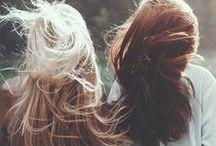LOVELY LOCKS / Hair to lust over.