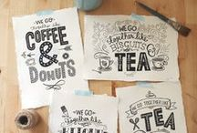 Hand Lettering & Type / Hand lettering, typography, handwriting, design