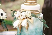 Wedding Cakes and Dessert displays / Discover plenty of wedding cake inspiration for any creative, modern wedding right here. From  cake toppers to cakes adorned with the most exquisite flowers, you'll find loads of wedding cake design ideas on this board.