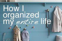 organize / by Erika Opp