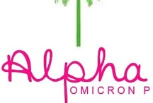 Alpha Omicron Pi / by Katrina Jennings