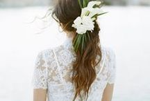 Wedding Hairstyle + Makeup  Ideas / Discover plenty of  wedding hairstyle ad makeup inspiration right here for any beautiful, modern wedding theme. You'll find loads of romantic wedding hair style and makeup ideas on this board.