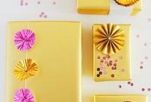 Gift wrapping / Envuelve tus regalos