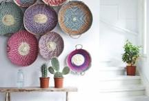 Decorate with baskets/Decorar con cestas