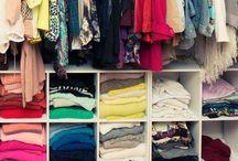 Ideas--closet / by Jaclyn Hansell