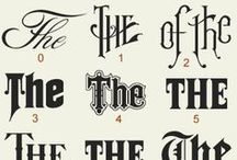 Typography and logotypes