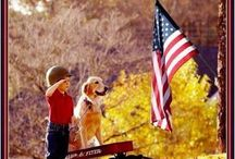 AMERICA! / Land of the free; home of the brave / by Patience Bock